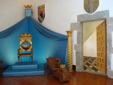 Visitar el castillo de Púbol en Girona