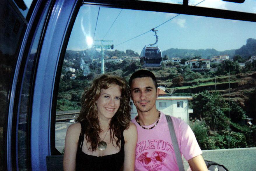 Subir en funicular en Madeira