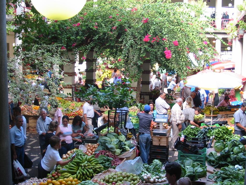 Mercado en Funchal