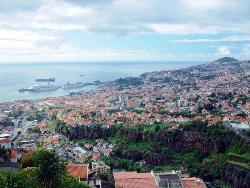 Bahía de Funchal en Madeira