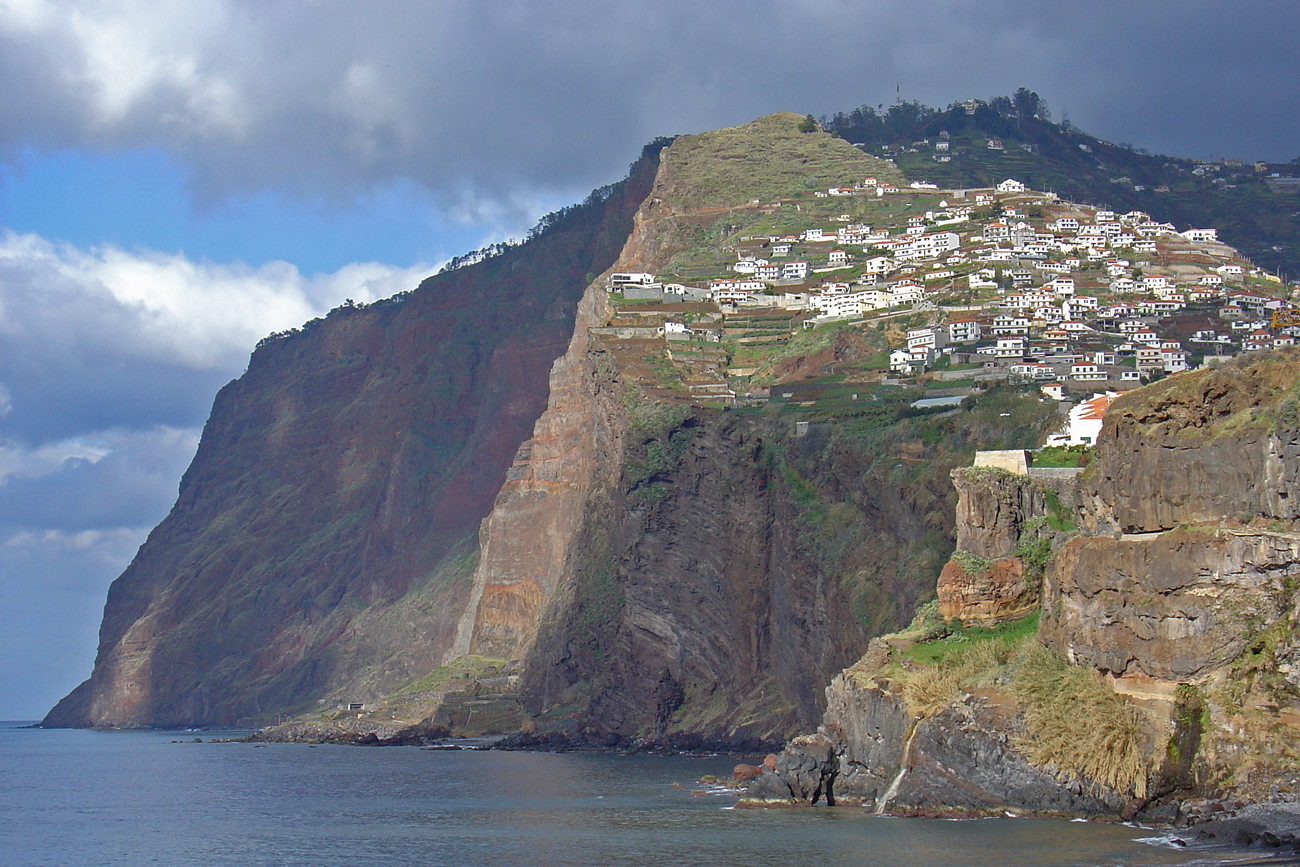 Acantilado más grande de Europa en Madeira
