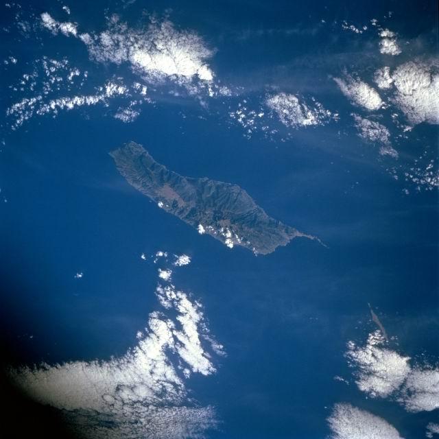Madeira (foto tirada pela NASA)