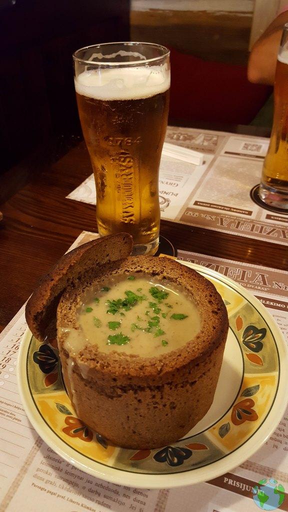 Comer en Vilnius