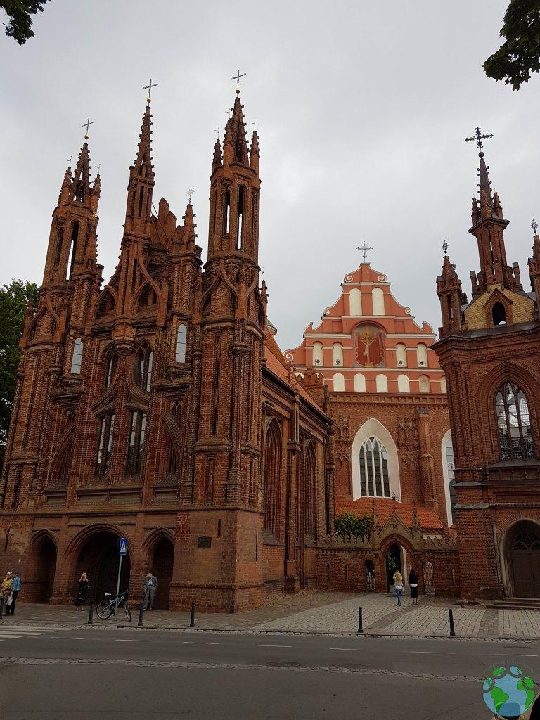 Iglesia de Santa Ana en Vilnius