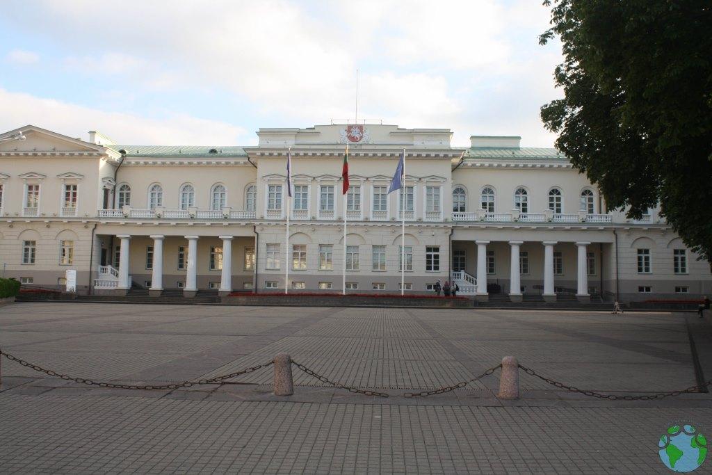 Palacio Presidencial de Vilnius