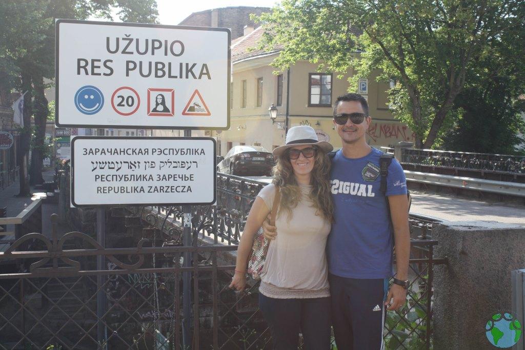 Entrada a Uzupis