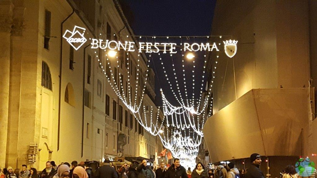 1 de enero en Piazza del Popolo