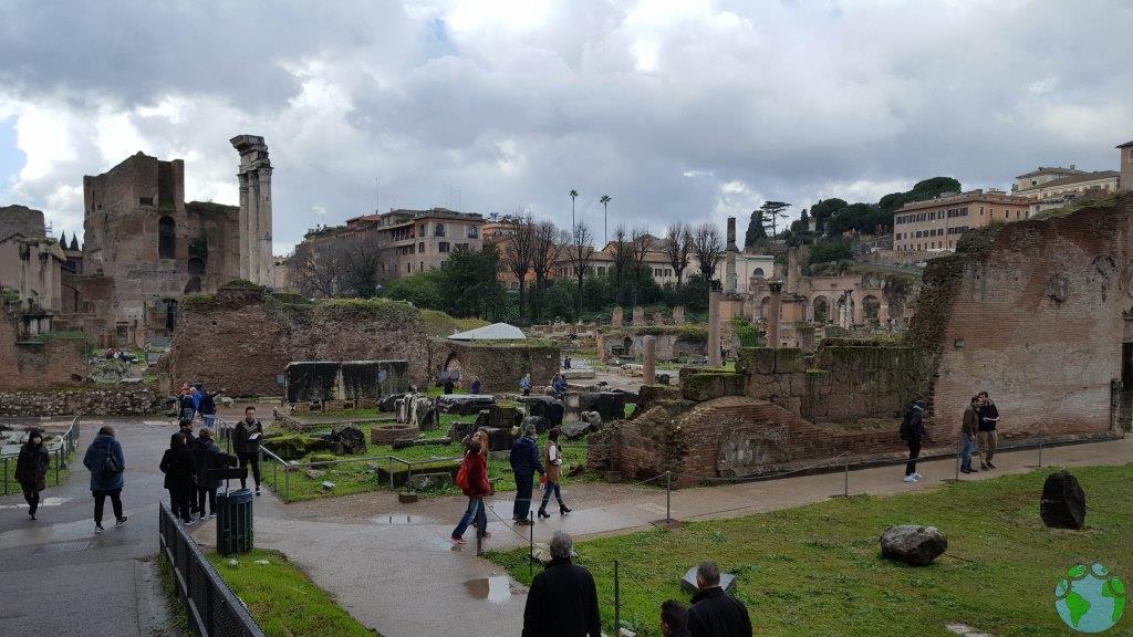 Visitar Roma con niños