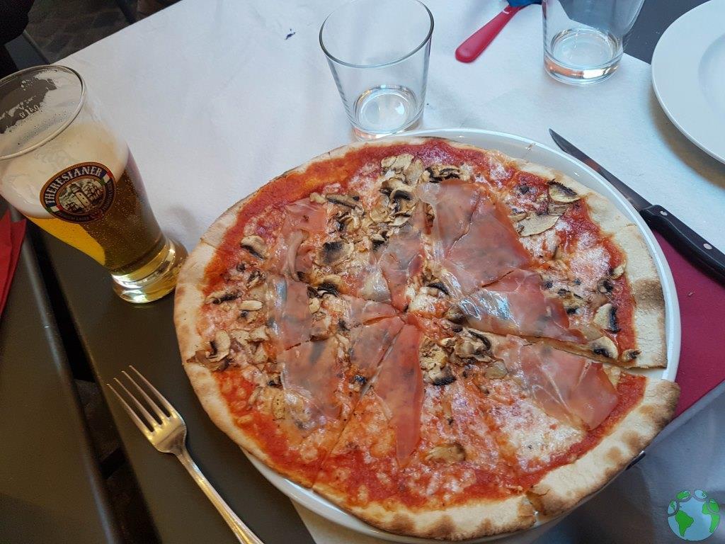 Comer en Trastevere