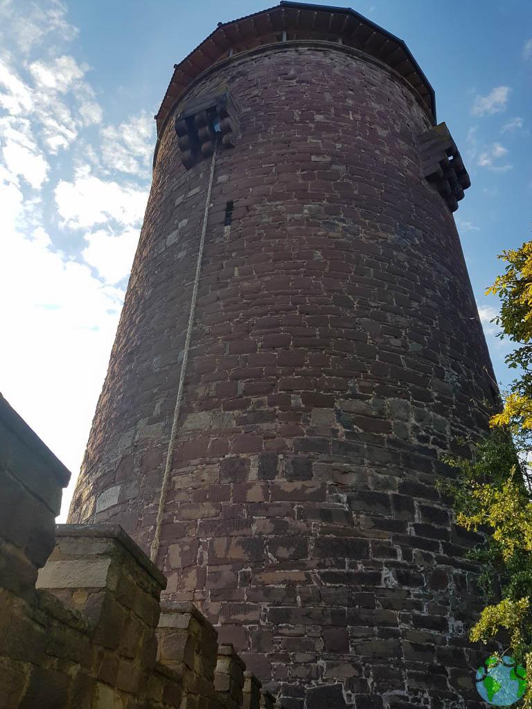 Visitar el castillo de Rapunzel con niños