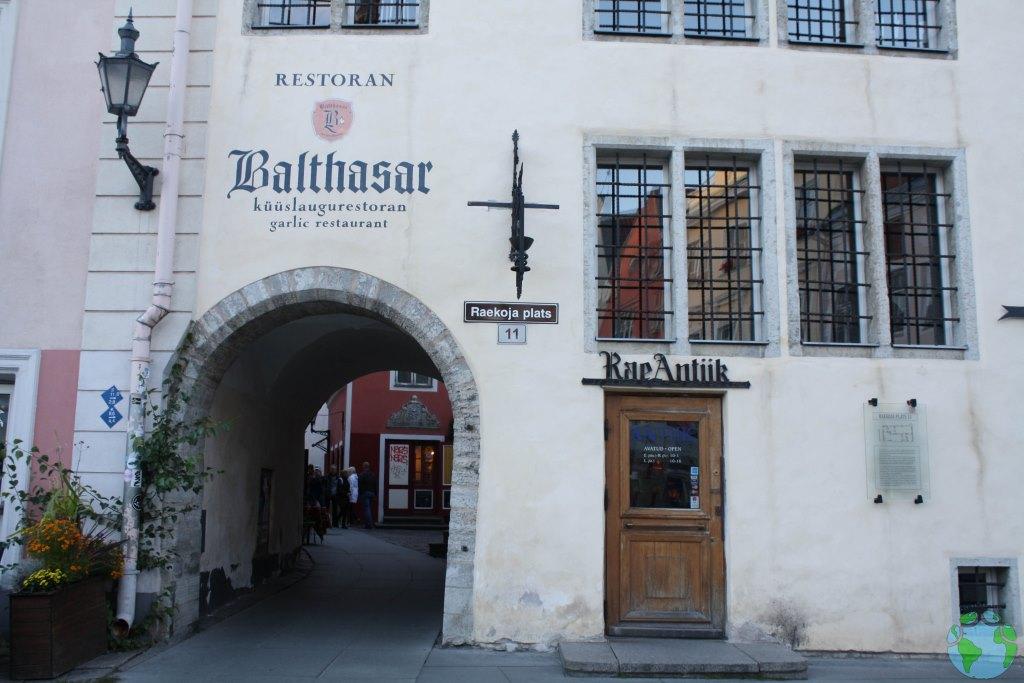 Farmacia antigua en Tallin