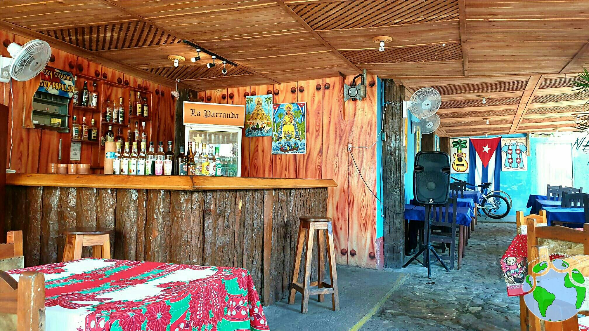 dónde comer en trinidad cuba