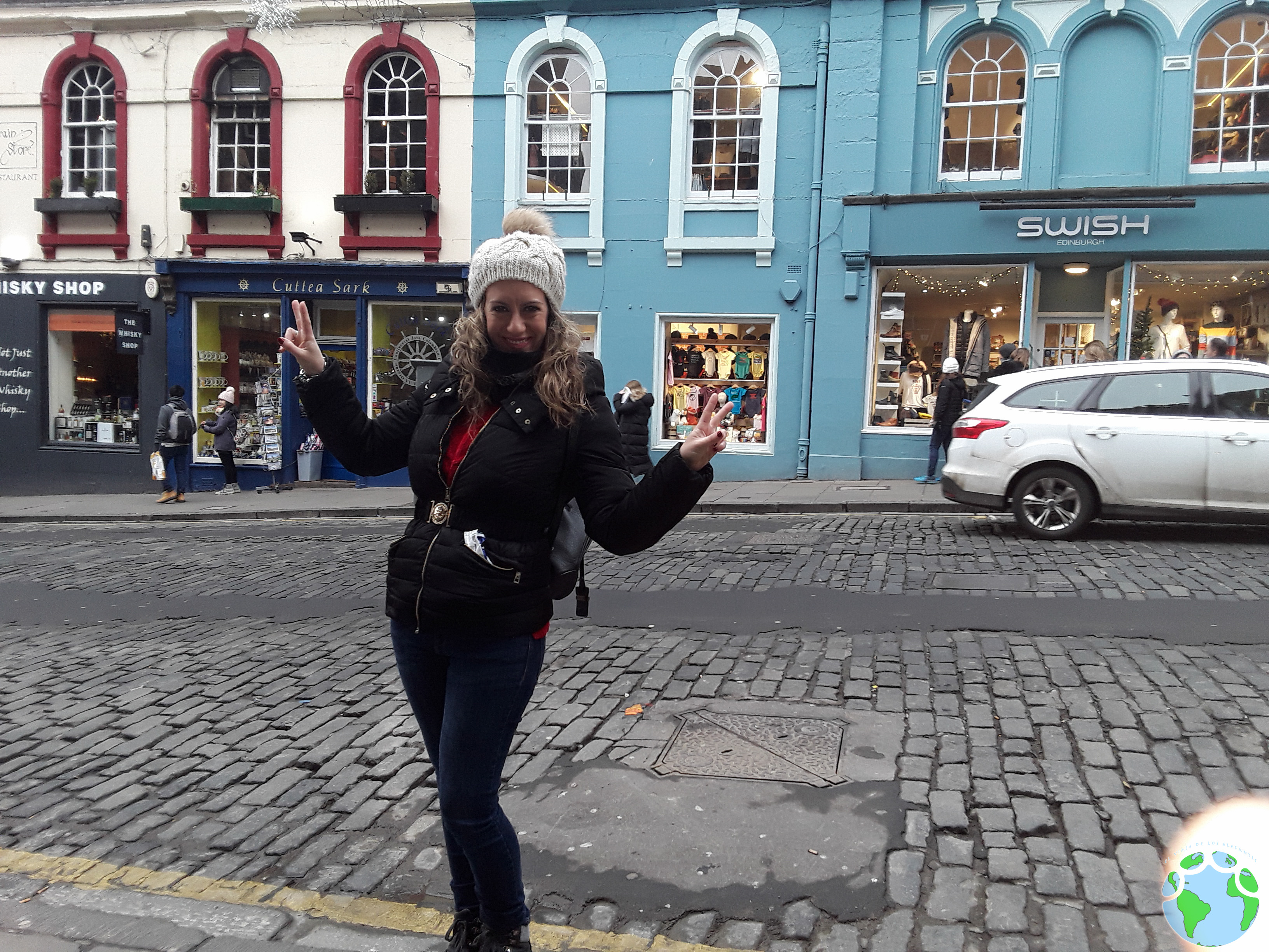 Mami en Edimburgo
