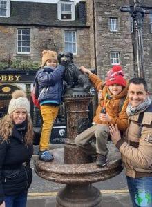 Greyfriars Edimburgo con niños