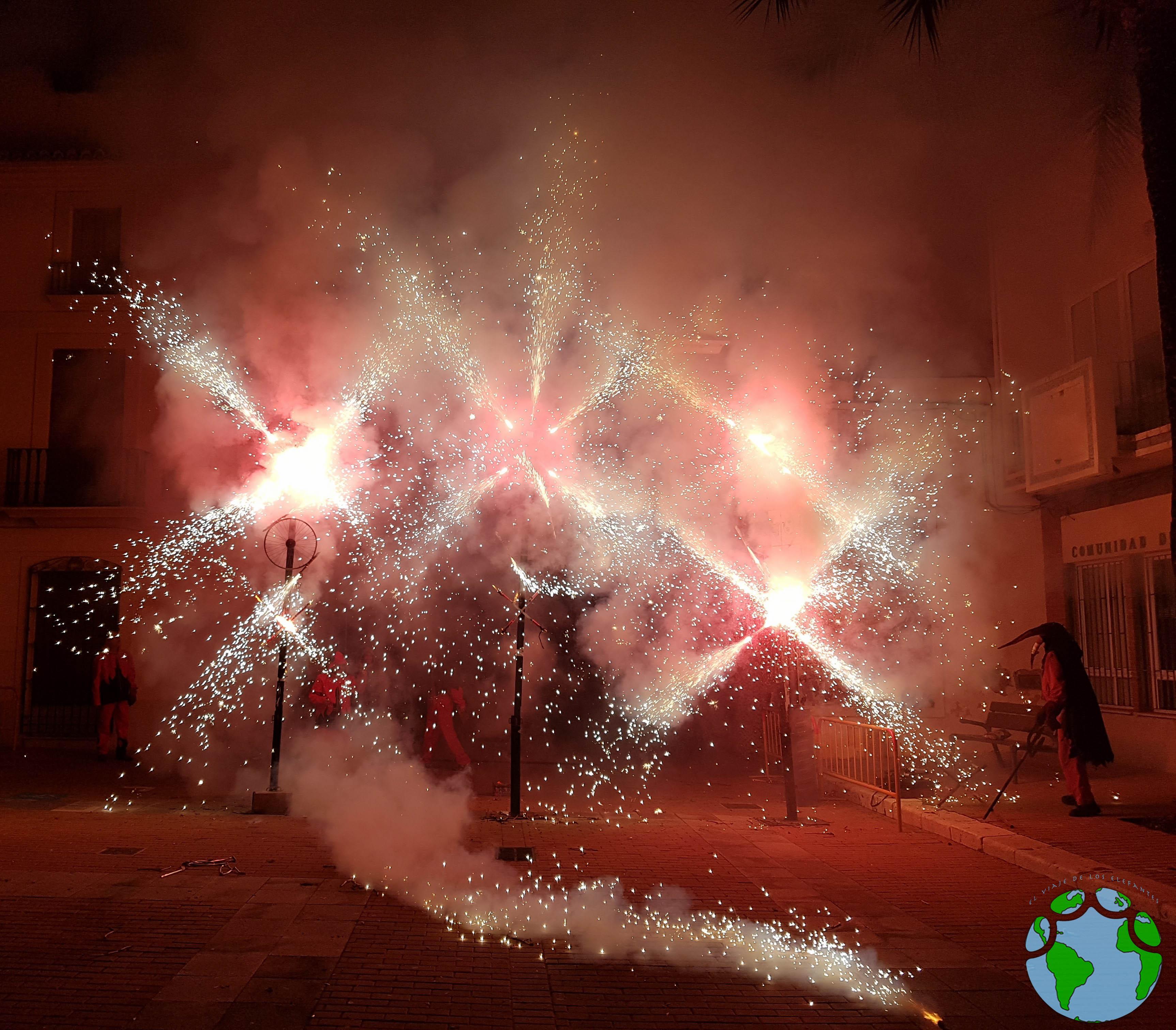 Fin de fiesta tradicional