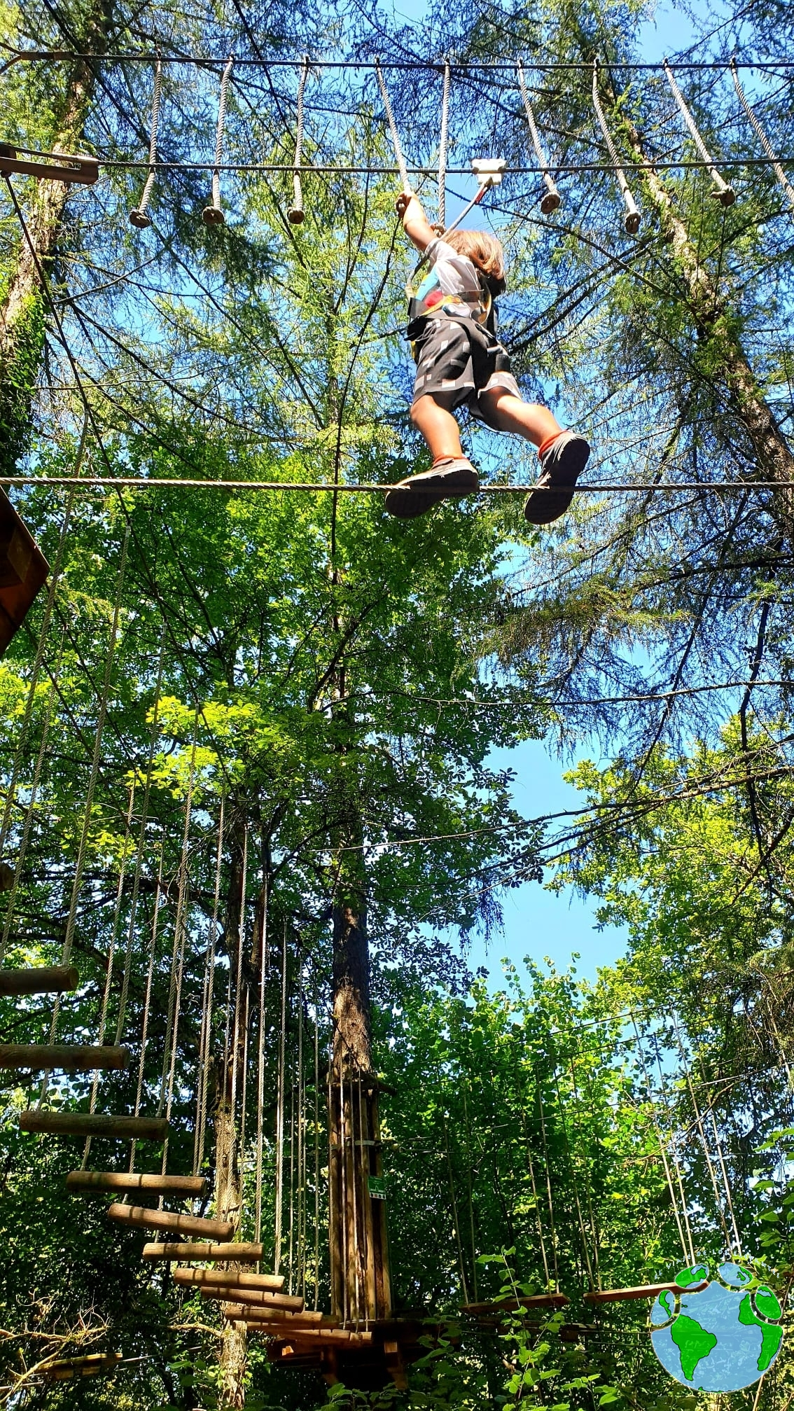 Parque aventura en Gorbeia