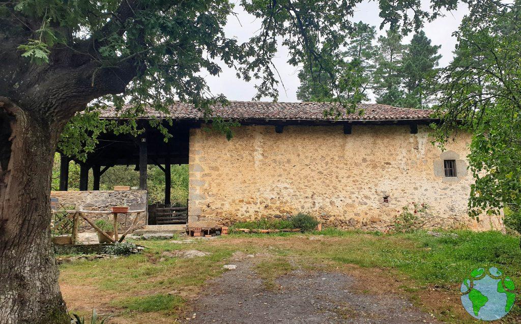 Iglesia en Zeberio en Vizcaya