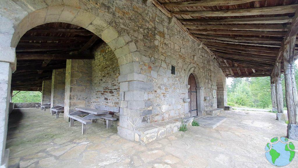 Ermita Andra Mari en Zeberio en Vizcaya
