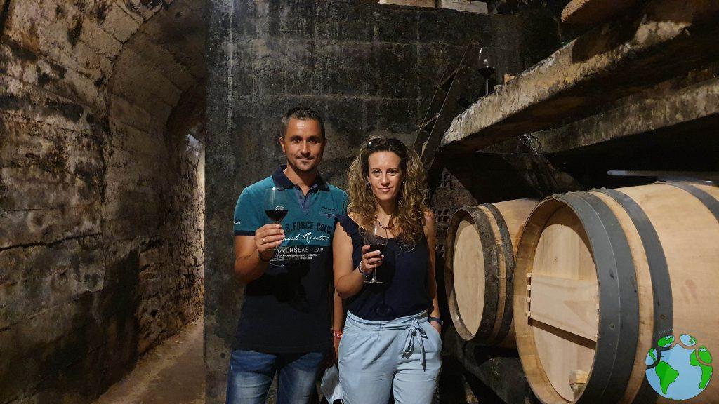 Cata de vino en Fuenmayor