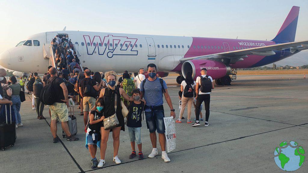 Viajar en avión a Albania